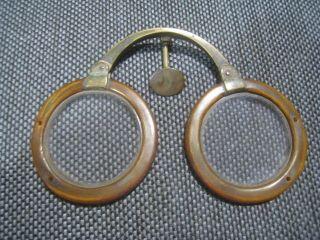 antique eyeglasses folding