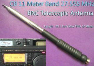 CB 11Meter 27MHz   28MHz 45.5 BNC Telescopic Antenna