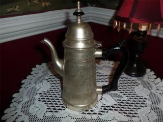 QUALITY DECORATIVE ANTIQUE VINTAGE SILVER PLATED EPNS TEA POT TEAPOT
