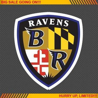 Baltimore Ravens Alternate NFL Football Logo Car Bumper Window Wall
