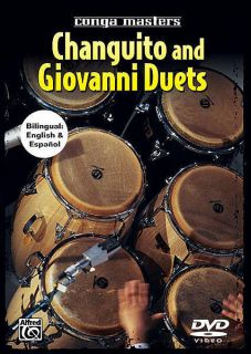 Changuito and Giovanni Duets   Conga Masters Drum DVD