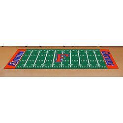 NCAA FLORIDA GATORS Football Accent Mat AREA RUNNER RUG