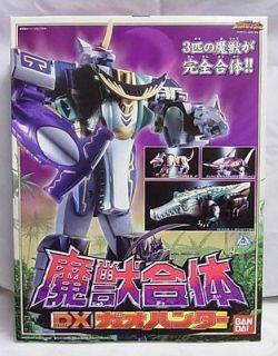 NEW Power Rangers Wild Force DX Gao Hunter Megazord Japan RARE