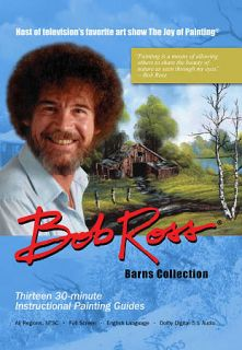 Bob Ross: Barns Collection (DVD, 2010, 3 Disc Set)