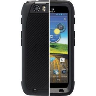 Black OtterBox Defender Series Cell Phone Case For Motorola ATRIX HD