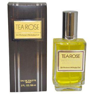 Tea Rose by Perfumers Workshop for Women   2 oz EDT Spray