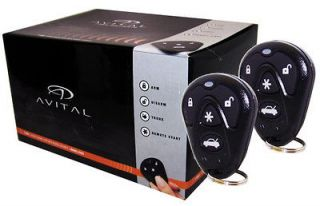 AVITAL 5103 Car Remote Start /Security/ Keyless Entry 1 Way System