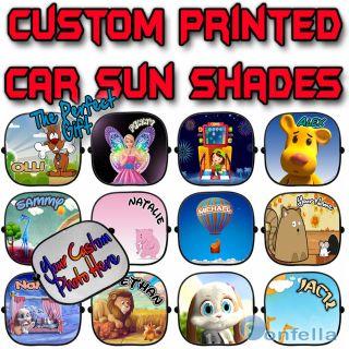 Children baby Car Sun Shades Window Screen full colour   x 1