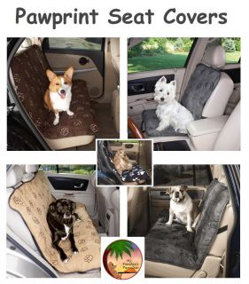 PAWPRINT CAR SEAT COVERS   Wide Variety Sizes & Colors   High Quality