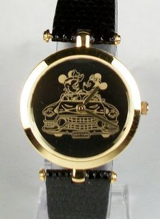 Disney Pedre Cadillac Mickey Mouse Watch HTF New