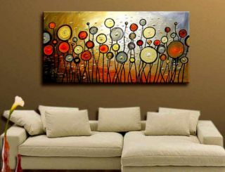 Special offer★★48 Long Handpaint Living ROOM Decor ART OIL