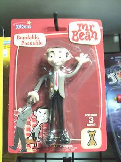 Mr.Bean Rowan Atkinson British TV Show Comedy Bendable Action Figure