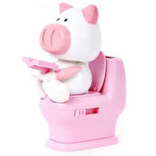 Auto Car Dashboard Swing Solar Decor Toy Doll Pig Pink