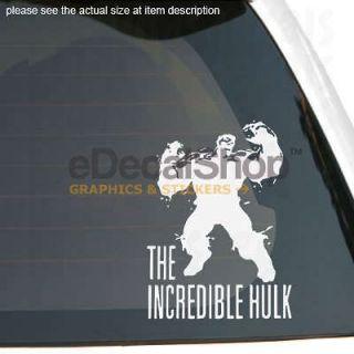 THE INCREDIBLE HULK LOGO Vinyl Sticker Car Wall Decal