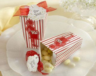96 About to Pop Popcorn Favor Box Baby Shower Favors