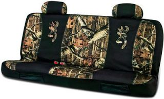 BROWNING MOSSY OAK CAMO UNIVERSAL SEAT COVERS, for Full Size Bench