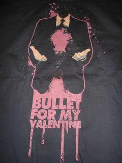 BULLET FOR MY VALENTINE Big Gun Headless T Shirt **NEW tour concert