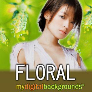 Digital Backgrounds Muslin Backdrops Photoshop PSD Chromakey Green