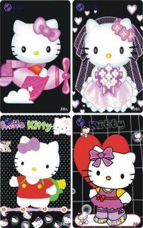 H01025 China phone cards Hello Kitty 58pcs