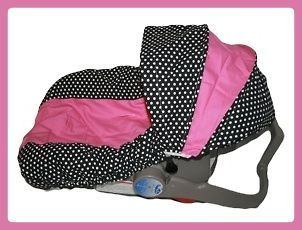 NEW GIRLS Infant CAR SEAT COVER For Graco Evenflo SADIE