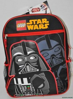 NEW BOYS KIDS LEGO STAR WARS BACKPACK BAG RUCKSACK 15