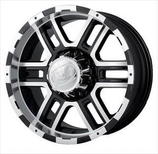 Alloy Ion Style 179 Wheels 6x5.5 +10 TOYOTA TACOMA PRE RUNNER 6LUG