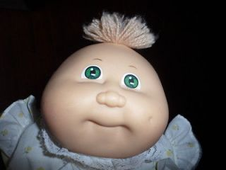 Play Along Cabbage Patch Kids Doll Baby Green Eyes Dimple 1985 1982