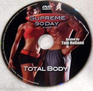 SUPREME 90 DAY WORKOUT   Total Body   New DVD   Shot In HD