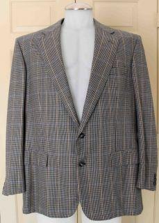Chester Barrie Bespoke 100% Pure Soft Cashmere Sport Coat / Blazer 44