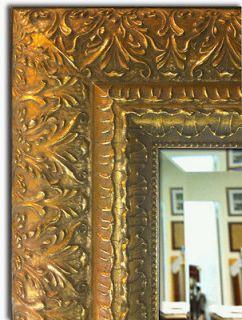 Framed Wall Mirror   Mantle & Bathroom Mirror Decorative Ornate