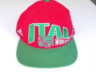 1994 Italia World Cup Soccer classic snapback baseball cap