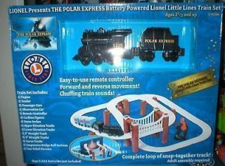 LIONEL TRAIN POLAR EXPRESS BATTERY POWERED LITTLE LINE