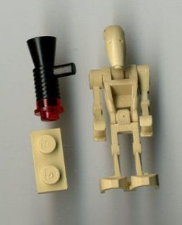 Lego Star Wars Battle Droid w/Early Gun & Backpack Original Mini