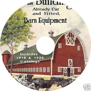 Honor Bilt Barn Plan Catalogs {1918 & 1924} on CD