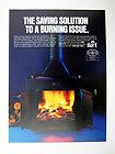 Black Bart Wood & Coal Burning Heating System 1980 print Ad