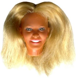 1974 BIONIC WOMAN 12 kenner doll    LINDSAY WAGNER    HEAD