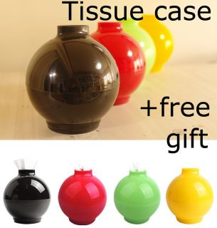 Ball Tissue Holder case Dispenser tissue box paper cover home decor