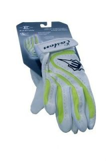 Adult Baseball Softball Batting Gloves Neon Green Medium Large NEW