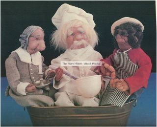 PATTERN Rub A Dub Dub 3 Man In A Tub Soft Sculpture Dolls TO SEW