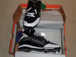 NEW in Box Mens Nike Air Show ELITE MVP Metal Baseball Cleats 13 Black