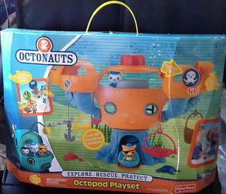 FISHER PRICE OCTONAUTS OCTOPOD PLAYSET US + BATTERIES IN HAND ~NEW