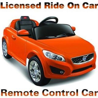 Best Kids Battery Operated Ride On Toy Car Volvo C30 Power Wheels
