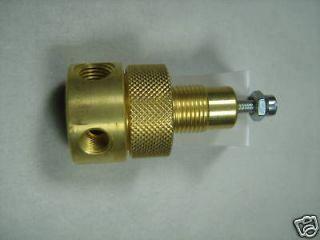 Waste Oil Heater Parts Norgren brass fuel / oil pressure regulator