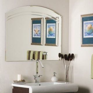 Decor Wonderland SSM1065 Angel Large Frameless Wall Mirror