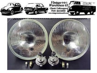 Bedford CF Camper Van 7 Sealed Beam Halogen Conversion Headlights