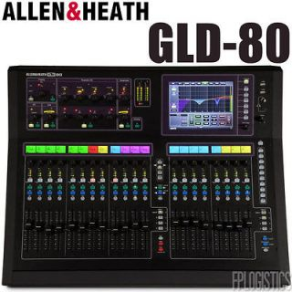 Allen & Heath GLD 80 Digital Mixer GLD80 System Mixing System Console