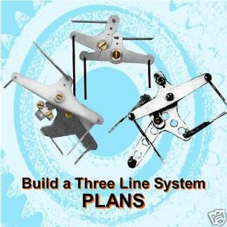 BUILD A 3 WIRE CONTROL LINE SYSTEM for MODEL AIRPLANES BUILDING NOTES