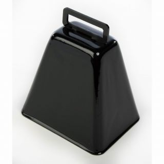 Metal Cow Bell Antique Style Black Cowbell Music Sports Pep Rally