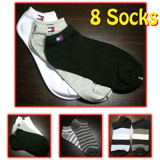 Mens Cotton Low Cut Style Ankle Sports Socks #V1 / Made in Korea