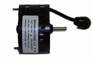 Nutone 683 Exhaust Fan Motor # 86652 (JA2B099N) 1285 RPM .7 amps 120